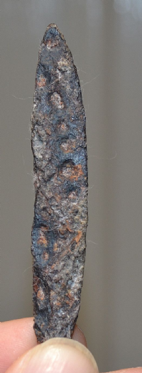 A small Anglo Saxon iron knife found at Thetford, Norfolk. SOLD